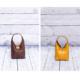 borsetta doubleface gialla e marrone - Dici8maggio